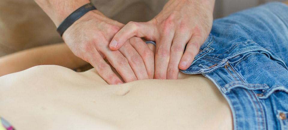 Osteopathie bei Leberfunktionsstörungen
